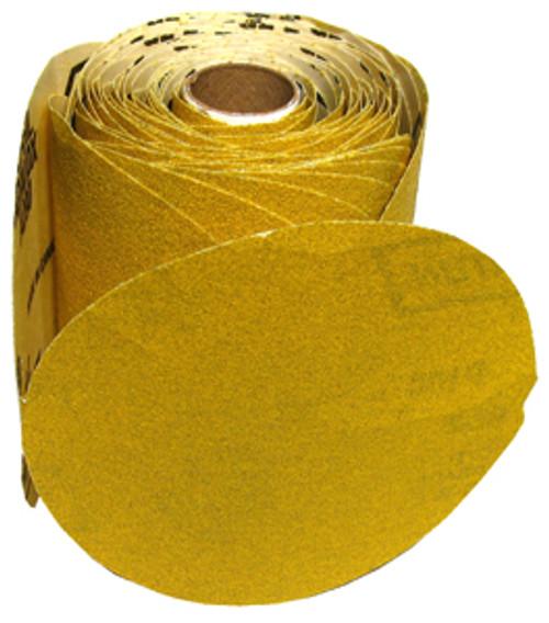 "Norton Open Coat Abrasive Discs 5"" Adhesive, 80 Grit, 100/roll"