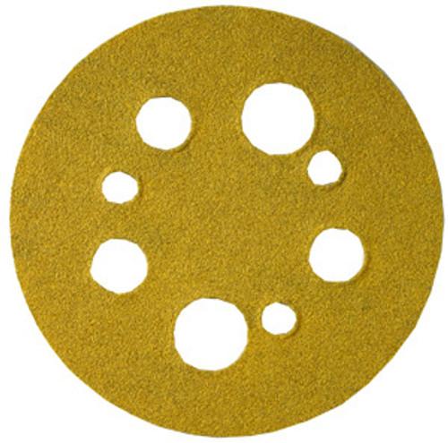 "Norton Open Coat Abrasive Discs 5"" Hook & Loop, 5 & 8 Hole, 120 Grit, 25"