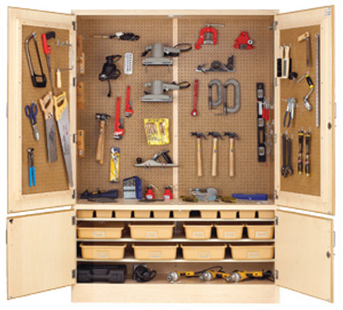 "Diversified Woodcrafts 60"" General Shop Tool Cabinet Only"