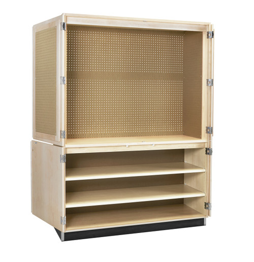 """Diversified Woodcrafts 60"""" Woodworking Tool Cabinet Only"""