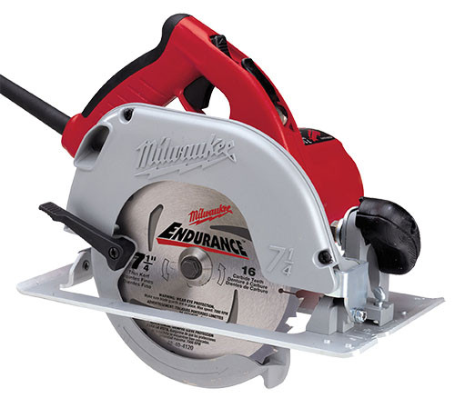 "Milwaukee Circular Saw Kit, 7-1/4"""