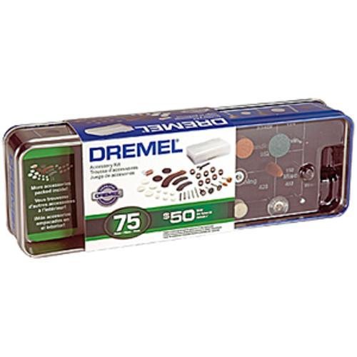 Dremel Rotary Tool Accessory Kit, 75-Piece