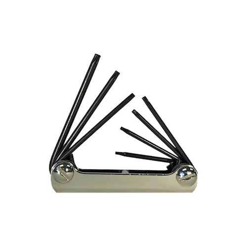 Eklind Torx Key Set Fold-up 7-Piece, 6 - 20