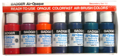 Badger Air-Opaque Paint Secondary Set