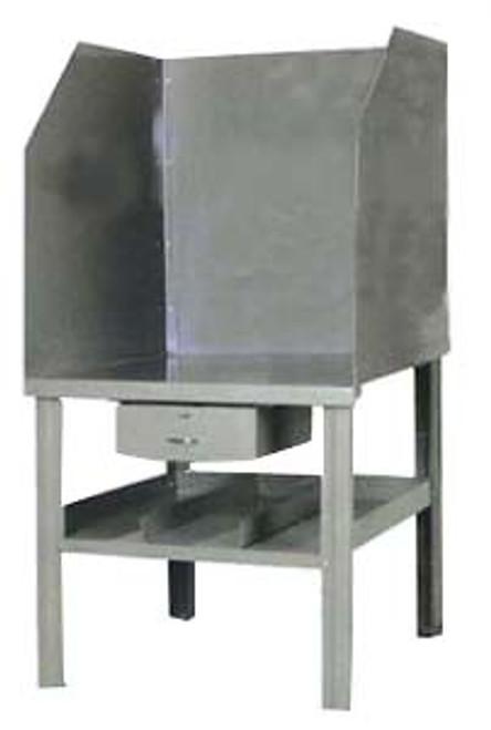 Pucel All-Steel Arc Welding Bench with Solid Shields