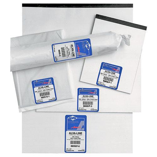 """Alvin Alva-Line 100% Rag Vellum Tracing Paper, 17"""" x 22"""""""