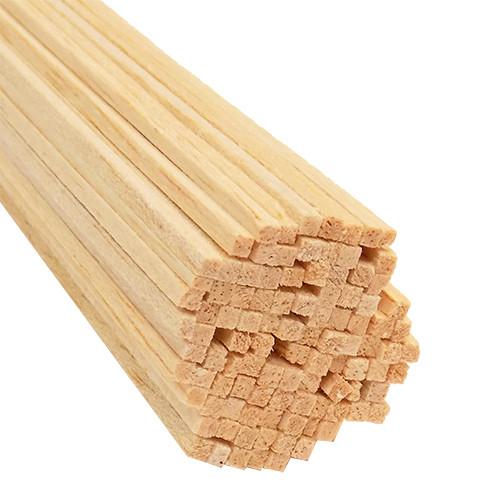 "Bud Nosen Balsa Wood Strips, 3/32"" x 3/32"" x 24"", 100/pkg."