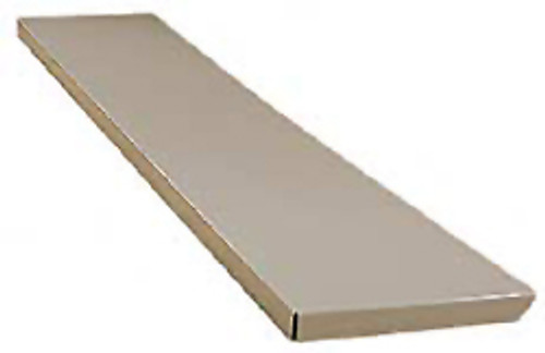 "Montisa Learning Bench Shelf, 4'L x 10-1/4""D"