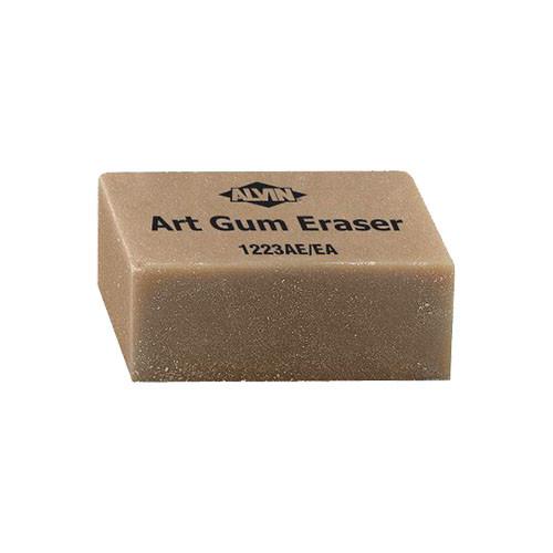 """Alvin Art Gum Erasers, 2"""" x 1"""" x 7/8"""""""