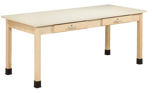 "Diversified Woodcrafts Art/Planning Table w/1-1/4"" Laminate Top"
