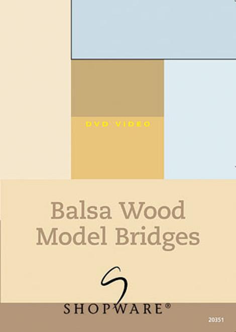 Shopware Balsa Wood Model Bridges DVD