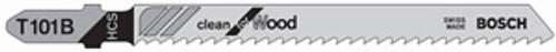 Bosch T-Shank High Carbon Steel Jig Saw Blades, 10 TPI, For Clean Cuts