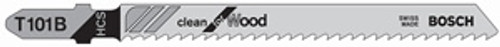 Bosch T-Shank High Carbon Steel Jig Saw Blades, 8 TPI, For Fast Fine Cuts