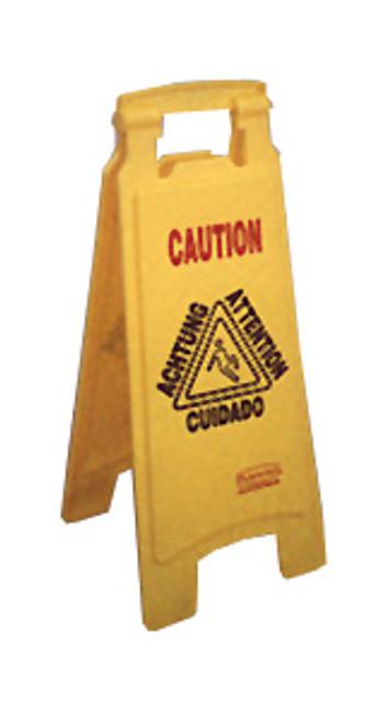 Rubbermaid Caution Wet Floor