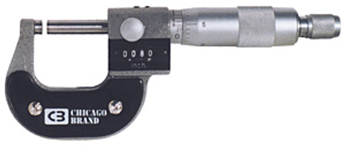 Chicago Brand Digital Micrometer, 0-1""