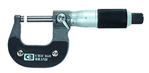 "Chicago Brand Outside Micrometer, 2-3"""