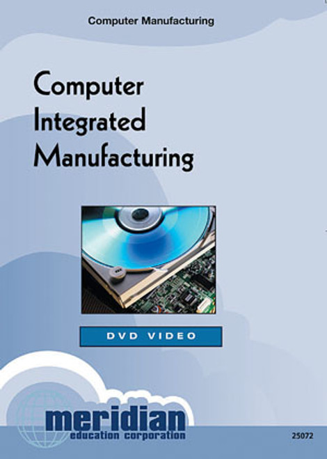 Meridian Computer Integrated Manufacturing DVD