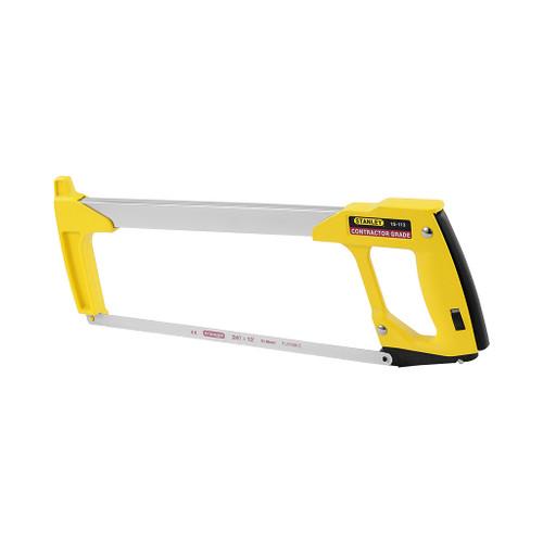"Stanley Contractor Grade High-tension Hacksaw Frame, 12""L"