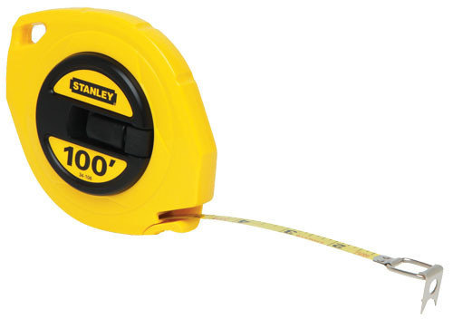 Stanley Long Tape Rules, 100'