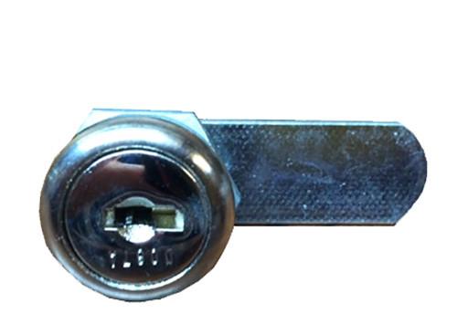 Montisa Learning Cylinder Lock, Sliding Door, Installed