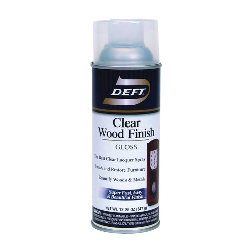 Deft Clear Wood Finish Spray Lacquer, Gloss