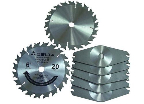 """Delta 6"""" Stackable Dado Set"""