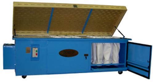 "Denray Downdraft Sanding Table, 96"" x 48"" 1PH"