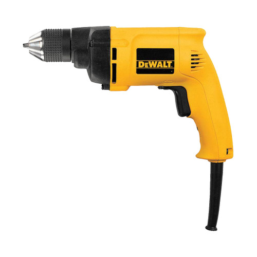 "DeWalt 3/8"" VSR Electric Drill, 6.7 Amp"