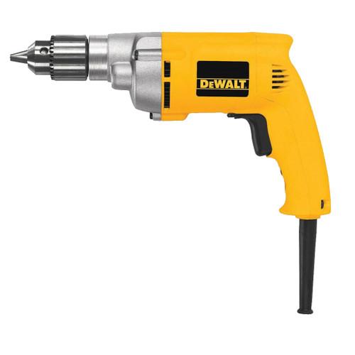 "DeWalt 3/8"" VSR Electric Drill, 7 Amp, 1,250 RPM"