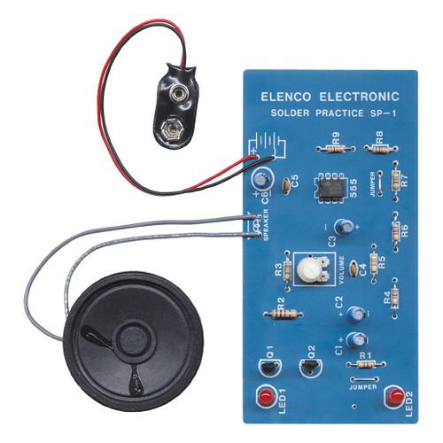 Elenco Solder Practice Kit: European Siren Kit