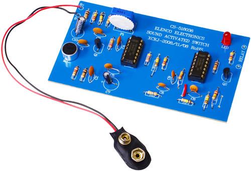 Elenco Sound Activated Switch