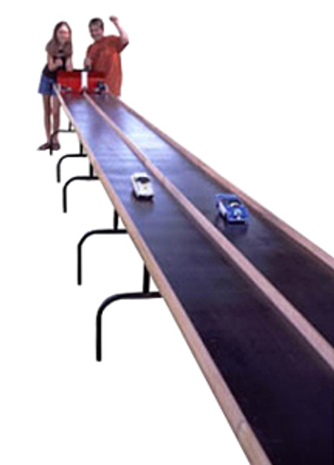 ABS CO2 Dragster Elevated Racetrack