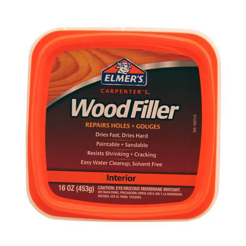 Elmer's Carpenter's Interior Wood Filler, 16 oz.
