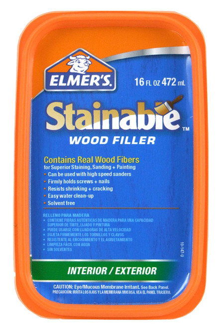 Elmer's Stainable Wood Filler, 16 oz.