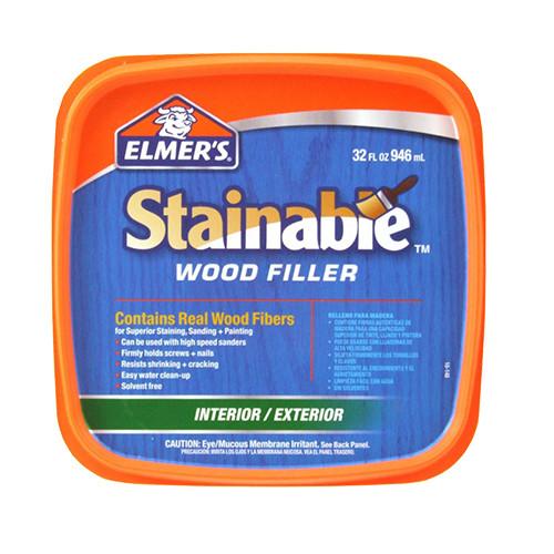 Elmer's Stainable Wood Filler, 32 oz.