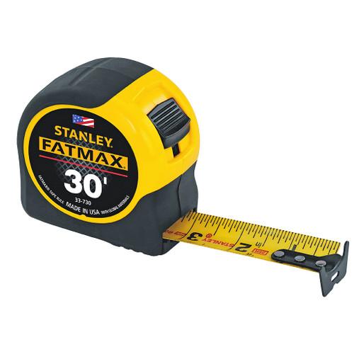 """Stanley FatMax Tape Rule, 30' x 1-1/4"""""""