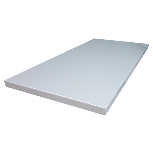 """Montisa Learning Heavy Steel Capped Bench Top 64""""L x 28-1/2""""D"""