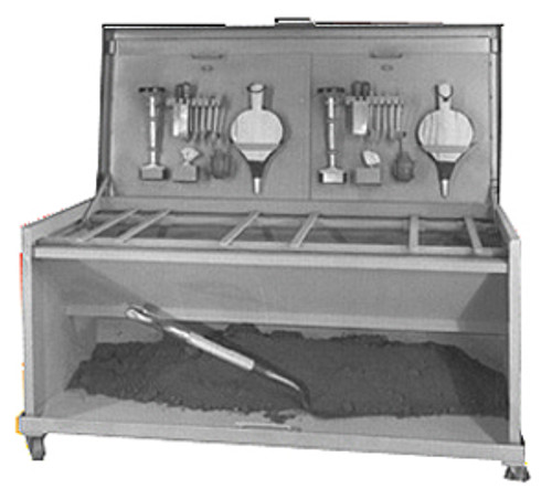 MIFCO Foundry Molder's Dual Station Work Bench