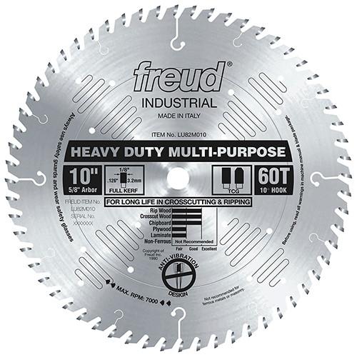 "Freud General Purpose Chipboard LU82M Circular Saw Blade, 10"""