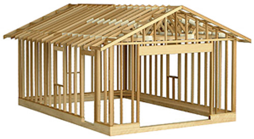 Educational Models Garage Framing Kit