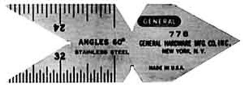 General Center Gauge
