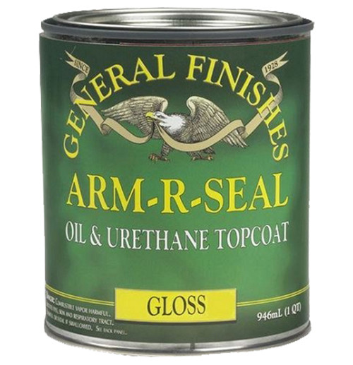 General Finishes Arm-R-Seal Oil & Urethane Topcoat, Gloss, Qt.