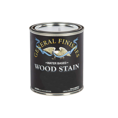 General Finishes Water-based Wood Stain, Espresso, Qt.