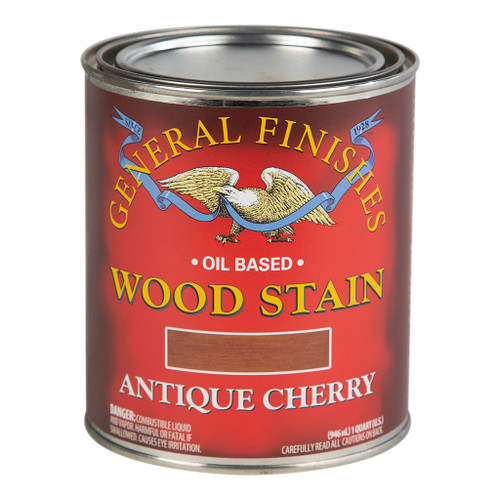 General Finishes Wood Stains, Antique Cherry, Qt.