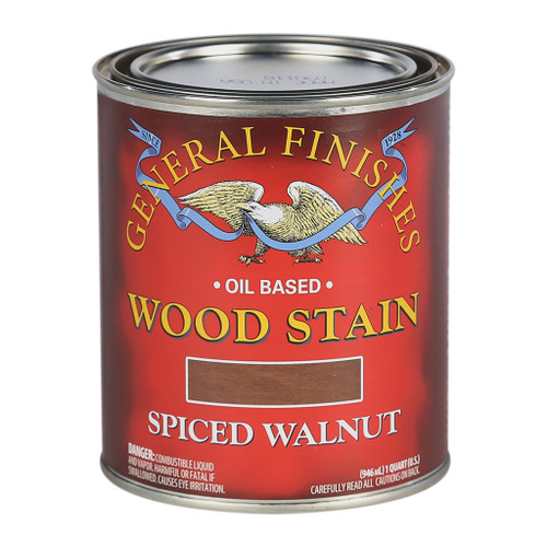 General Finishes Wood Stains, Spiced Walnut, Qt.