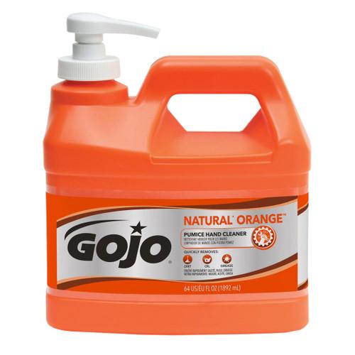 Go-Jo Natural Orange Pumice Hand Cleaner, 1 Gal.