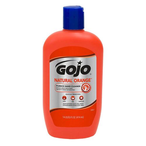 Go-Jo Natural Orange Pumice Hand Cleaner, 14 oz.