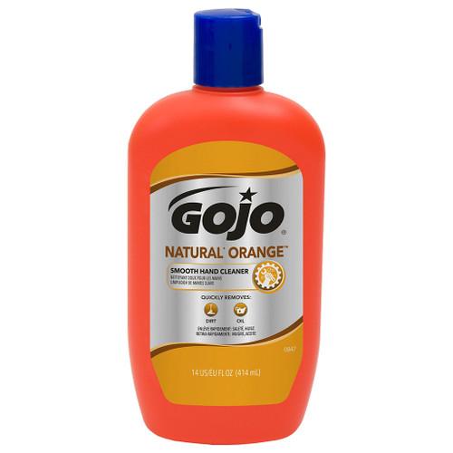 Go-Jo Natural Orange Smooth Hand Cleaner, 14 oz.