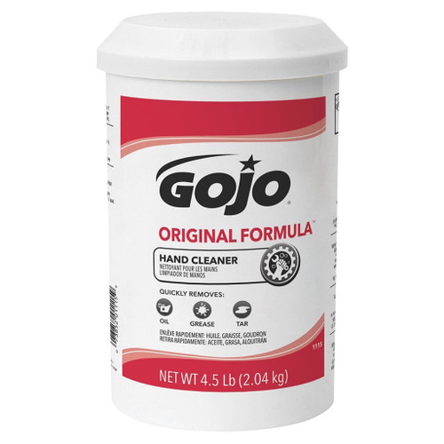 Go-Jo Original Formula Hand Cleaner, 4.5 lb., Cartridge