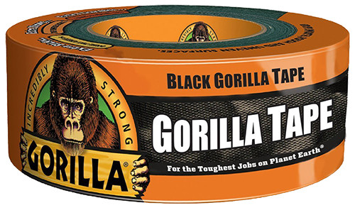 "Gorilla Glue Duct Tape, 2"" x 35 yd., Black"